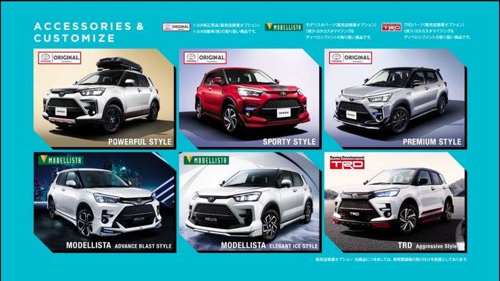 Pilihan varian Toyota Raize