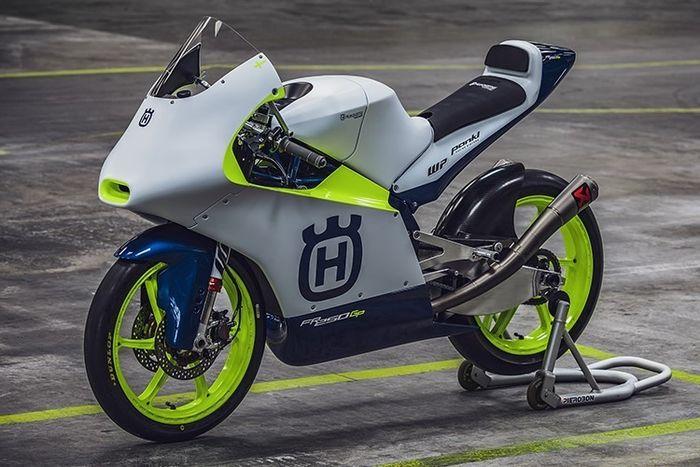 Motor Husqvarna untuk Moto3 2020
