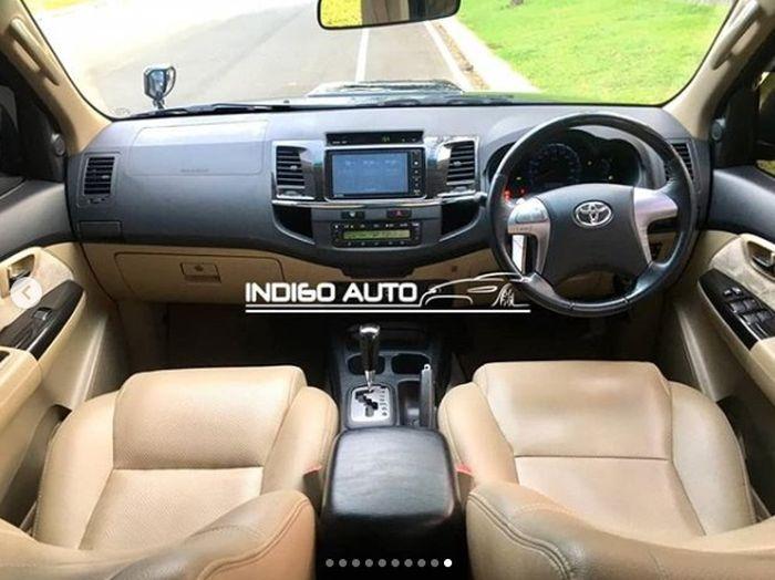 Interior Toyota Fortuner