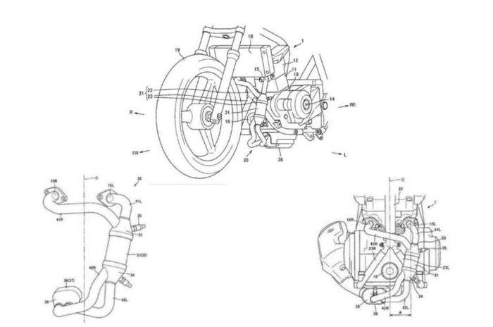 Paten mesin 250 cc baru Suzuki