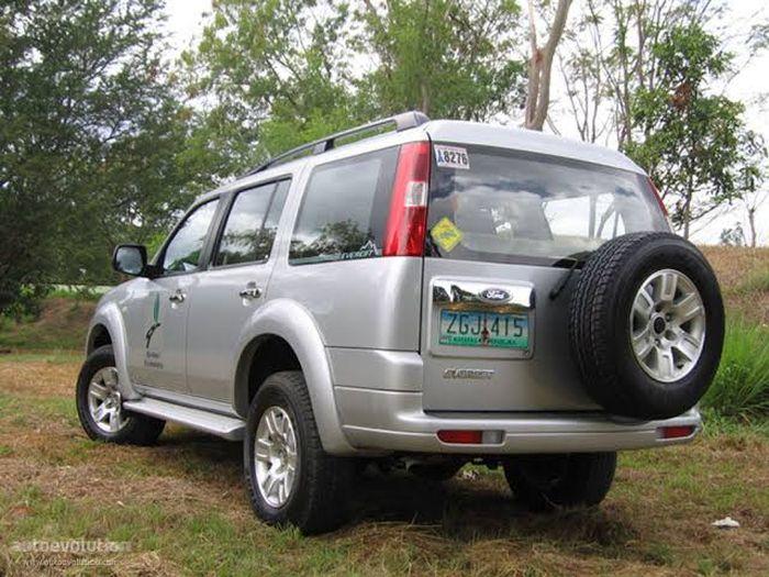Bagian belakang Ford Everest gen 2