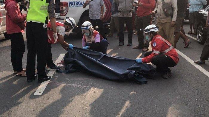 Ilustrasi, proses evakuasi korban kecelakaan