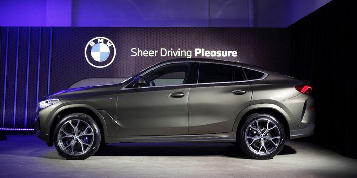 All New BMW X6 xDrive40i M Sport