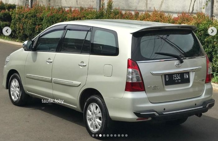 Toyota Kijang Innova Diesel 2.5 G 2012