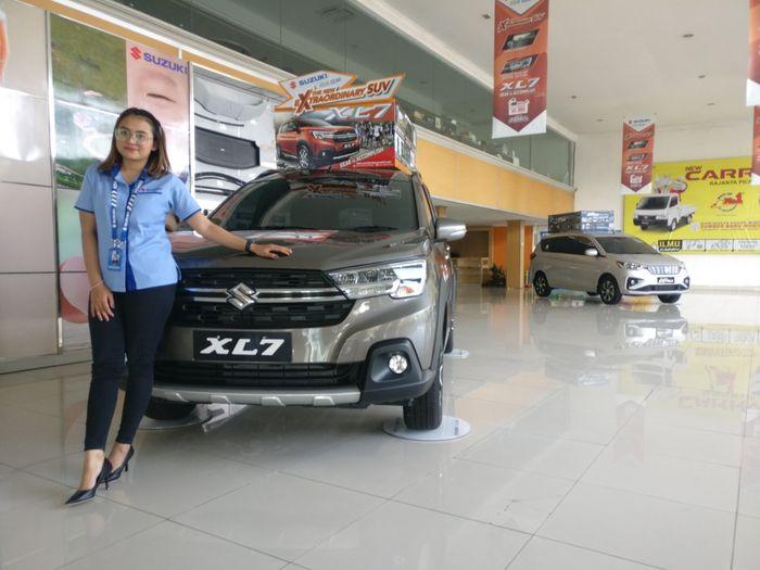 Ilustrasi dealer Suzuki