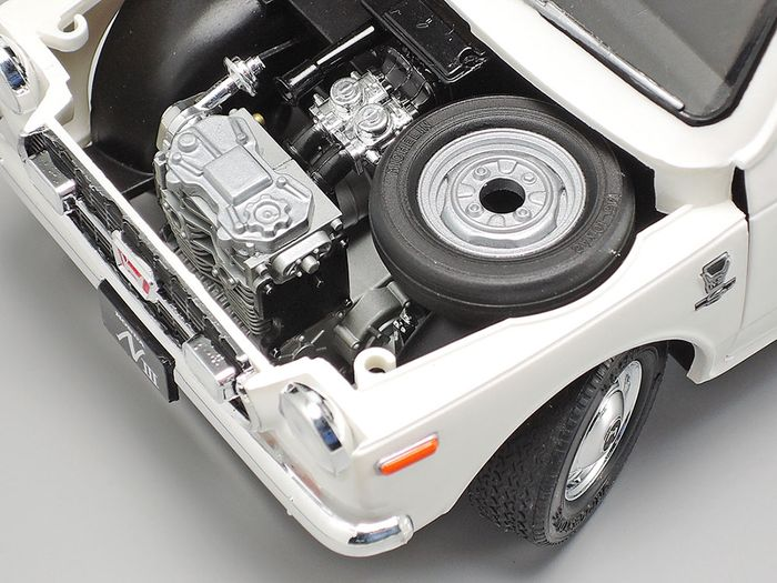 Bagian mesin Tamiya Honda N360
