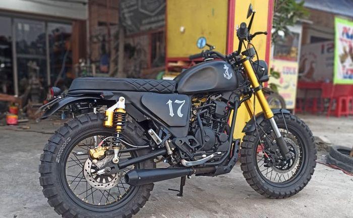 Big tracker Yamaha Scorpio garapan D Garage Custom