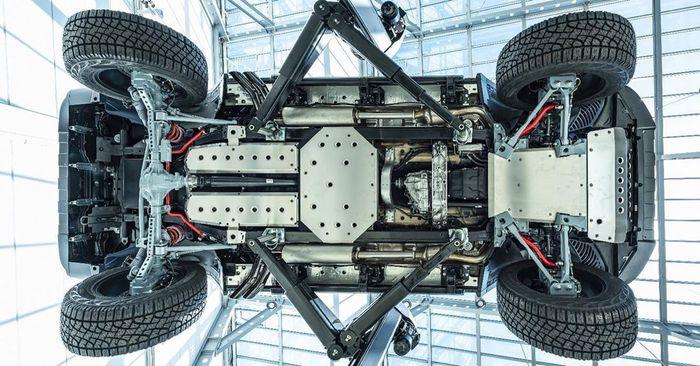 Memanjangkan jarak sumbu roda hingga 508 mm