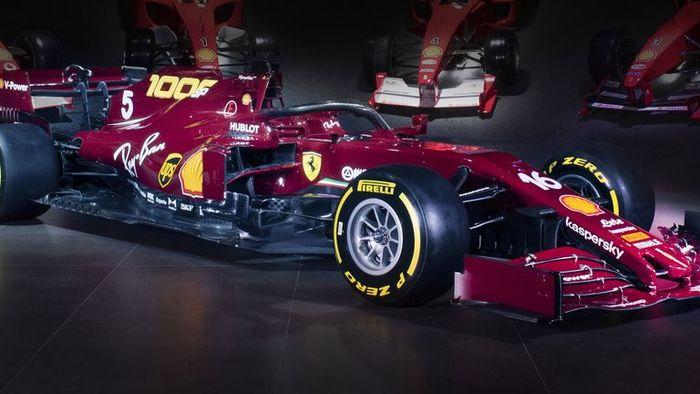 Livery SF1000 di F1 Tuscan 2020