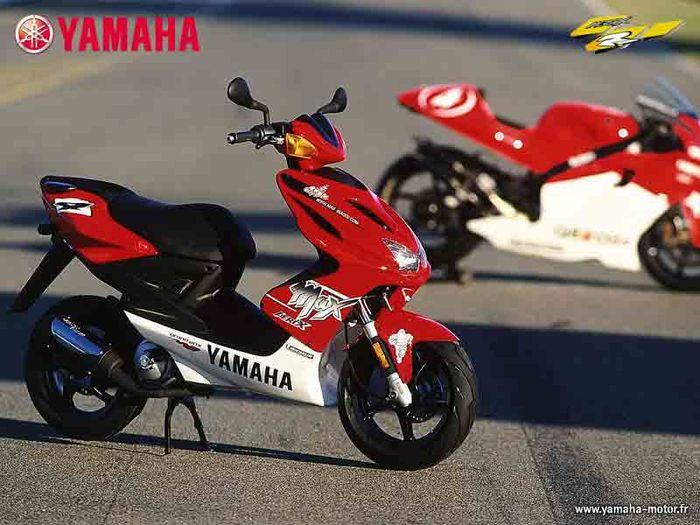 Yamaha Aerox YQ100 livery edisi khusus
