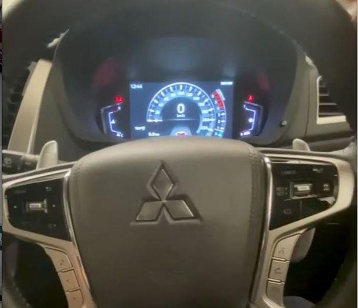 Speedometer Mitsubishi Pajero Sport Facelift Sepenuhnya Digital
