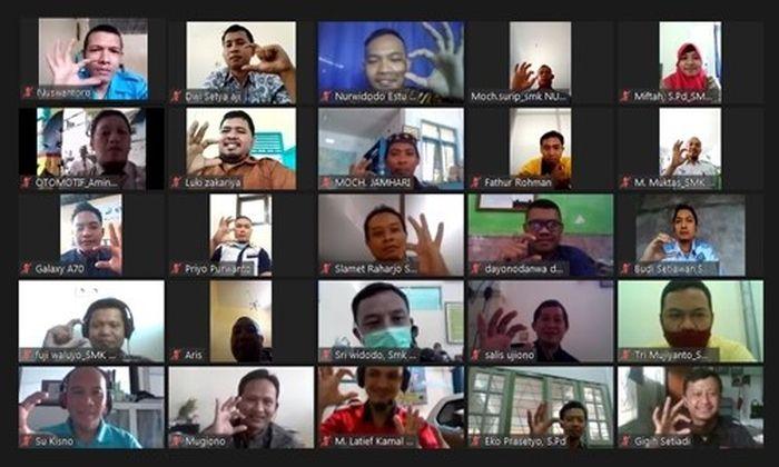 Sebanyak 100 guru SMK binaan Daihatsu se-Jawa Tengah ikuti pelatihan online.