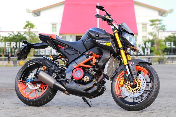 Yamaha V-ixion bertampang MT-15 habiskan dana Rp 20 jutaan