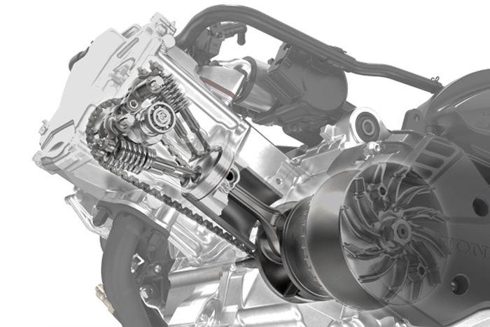Mesin Honda PCX 160
