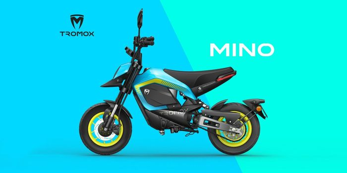 Tromox Mino, motor listrik mini asal China.