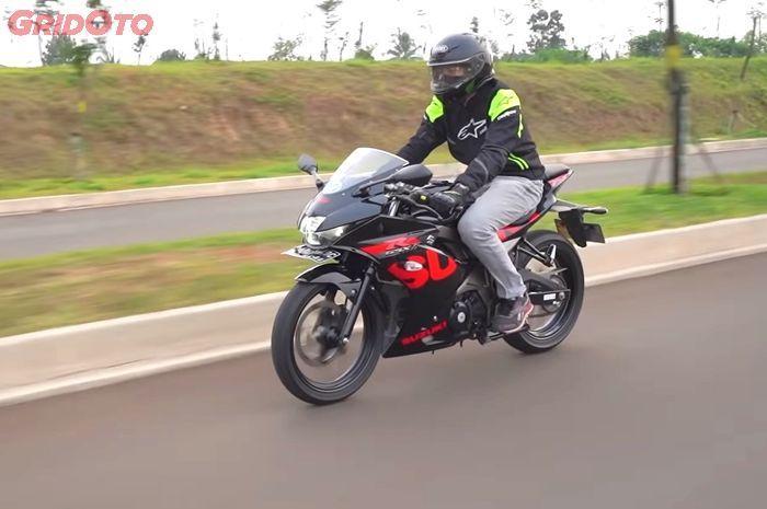 ternyata harga motor bekas Suzuki GSX-R150 gak sampai Rp 20 jutaan.