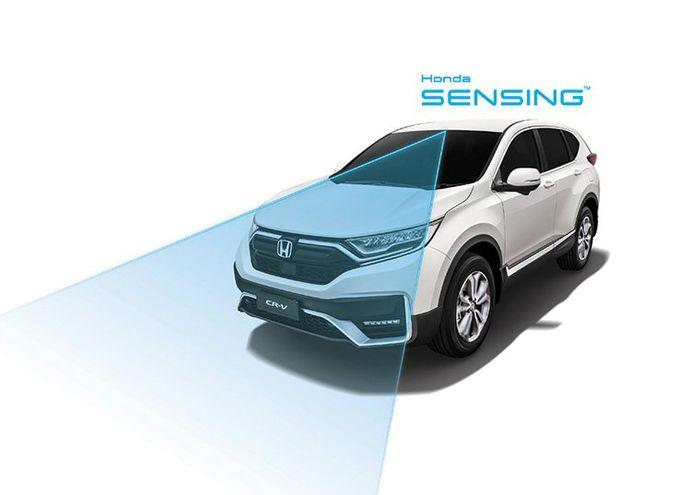 Fitur Honda SENSING di CR-V facelift yang meluncur November 2020 di Malaysia