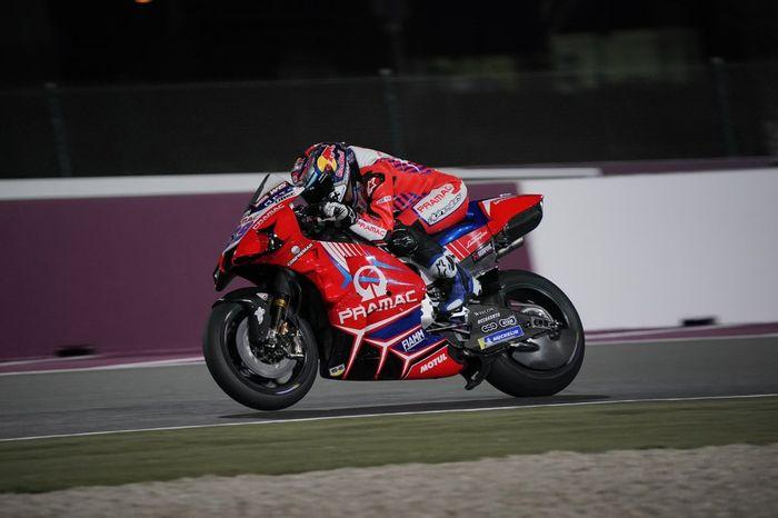 Jorge Martin pada shakedown test Qatar