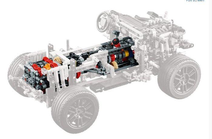 tampilan OtoToys LEGO Land Rover Defender