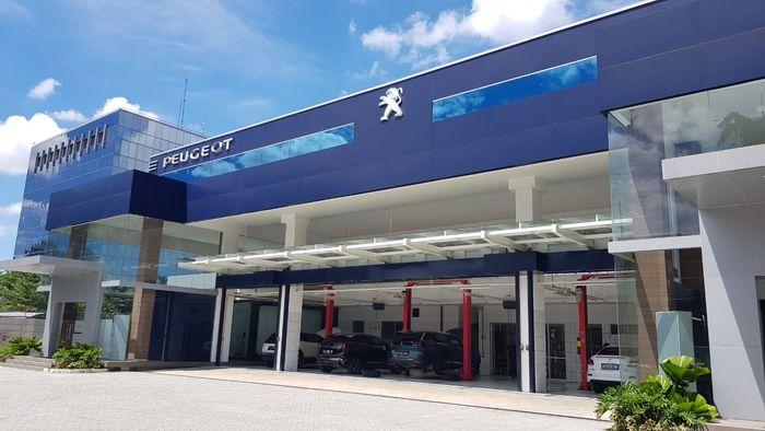 Bengkel cat dan perbaikan bodi Astra Peugeot