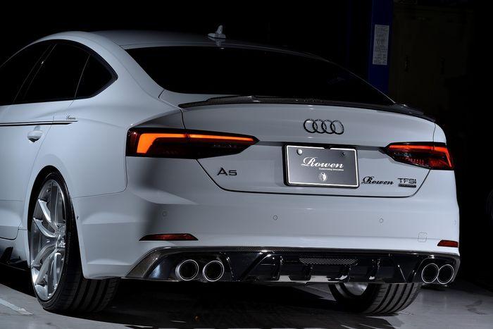 Tampilan belakang modifikasi Audi A5 Sportback garapan Rowen International