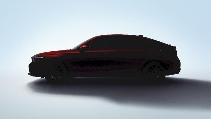 SIluet New Honda Civic Hatchbacj