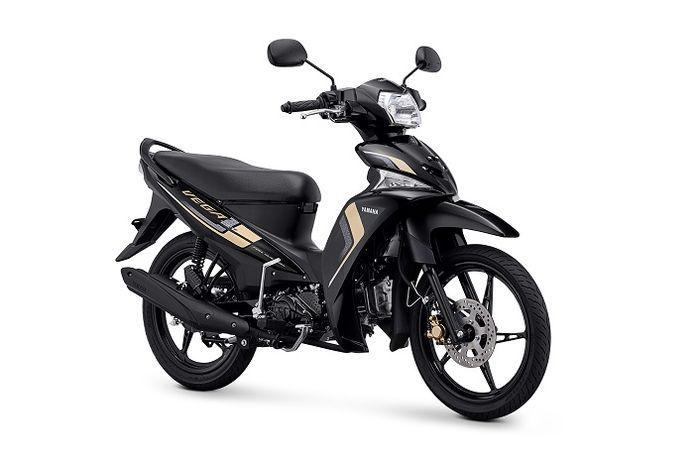 Yamaha Vega Force Metallic Black Gold