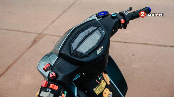 Panel speedometer diganti dengan model digital