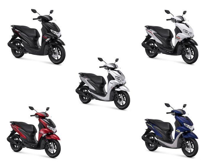 Pilihan warna baru Yamaha FreeGo