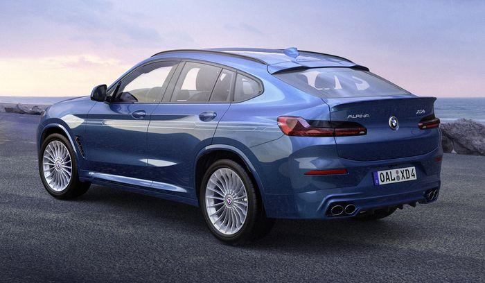 Modifikasi XD3 dan XD4 berbasis BMW X3 dan X4 baru dan pasokan mesin 3.000cc quad-turbo enam silinder
