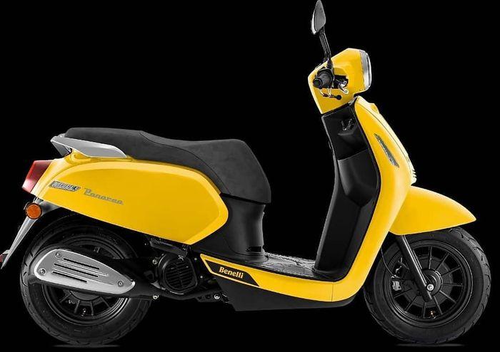 Benelli Panarea 125 warna Dynamic Yellow