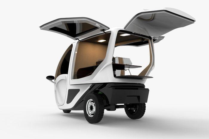 Kendaraan roda tiga bertenaga listrik PowerAce