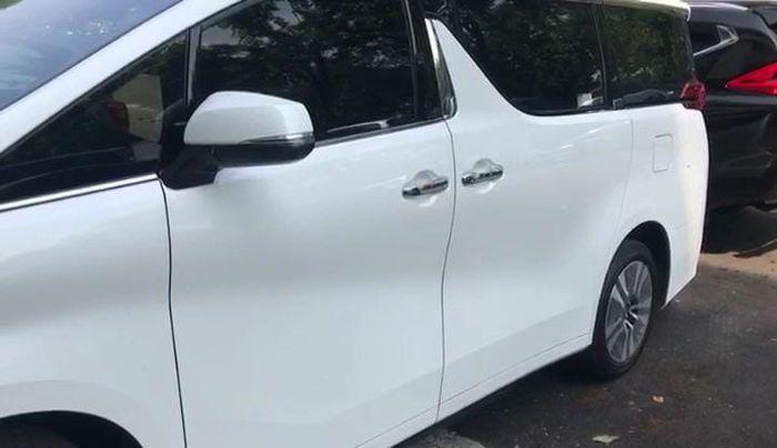 Footstep elektrik untuk Toyota Alphard di Automania