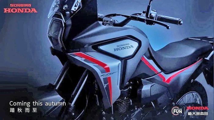 Gambar teaser Honda CRF190L Rally