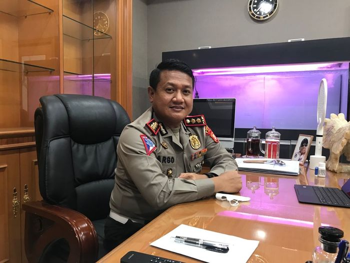 Kasubdit Gakkum Ditlantas Polda Metro Jaya, AKBP Argo Wiyono SH, SIK, MSi