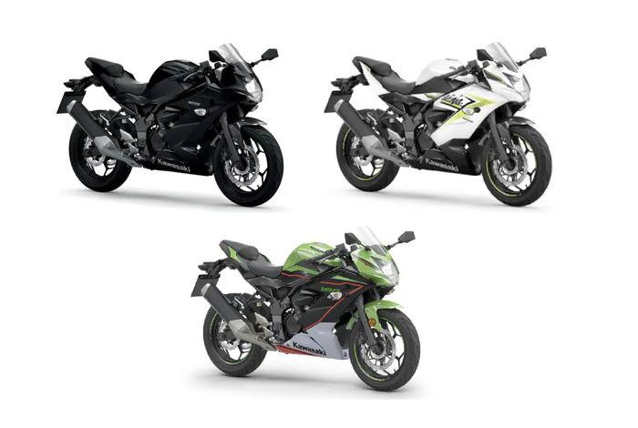 Pilihan warna Kawasaki Ninja 125