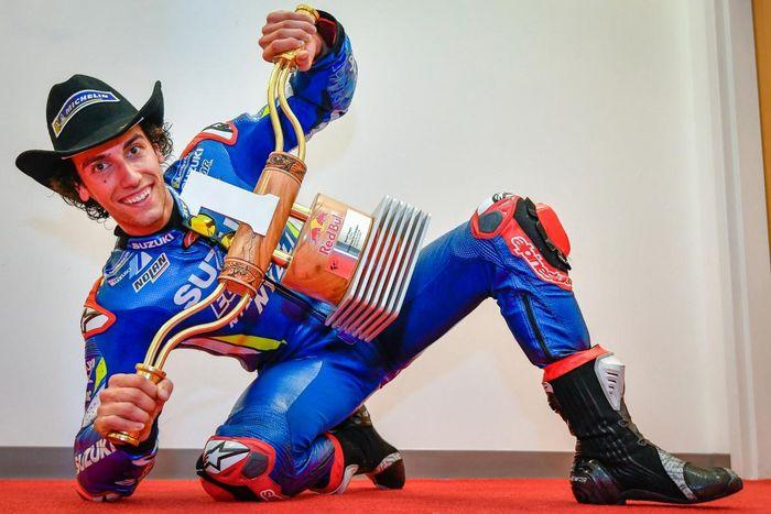 Alex Rins jadi Sheriff COTA terbaru usai menang di MotoGP Amerika 2019