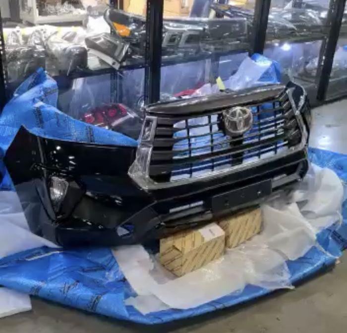 Bumper Toyota Kijang Innova Facelift