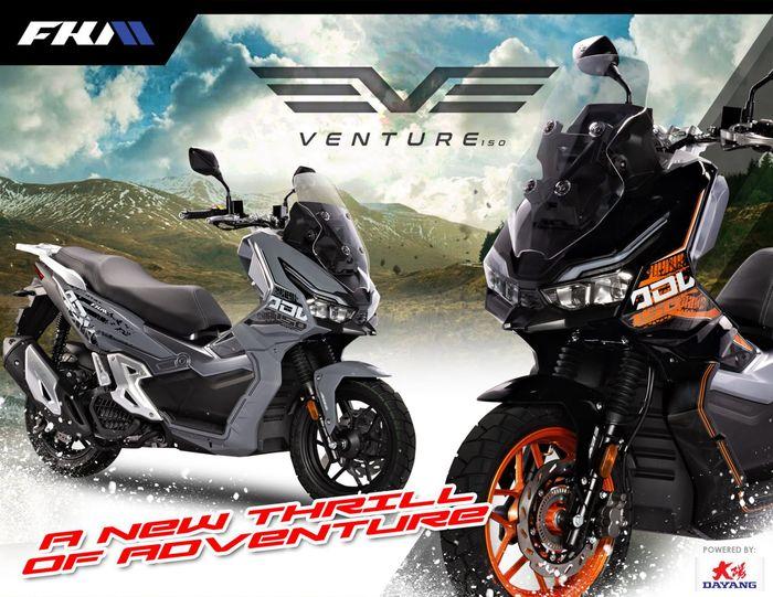 FKM Venture 150 2021 motor matic baru yang mirip Honda ADV 150.