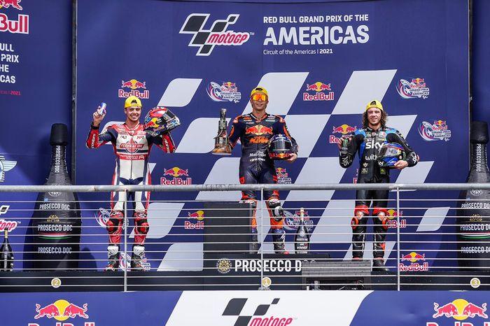 Fabio Di Giannantonio, pebalap Federal Oil Gresini Moto2 (FOGM2) raih podium 2 di Moto2 Amerika