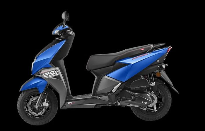 TVS Ntorq 125 RTFi warna Metallic Blue