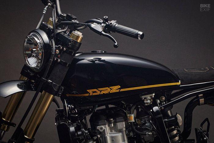 Tangki menggunakan milik Yamaha SR500