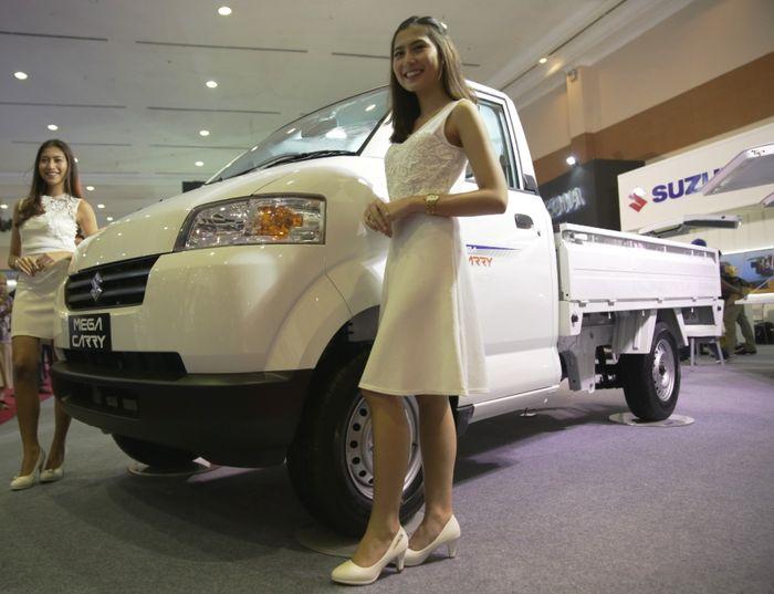Suzuki Mega Carry Facelift unjuk gigi di GIICOMVEC 2018