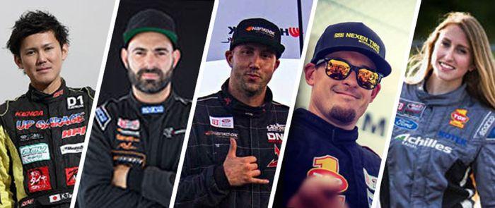 5 Jagoan Drifter Terbaik Dari Oli TOP 1 di Formula Drift