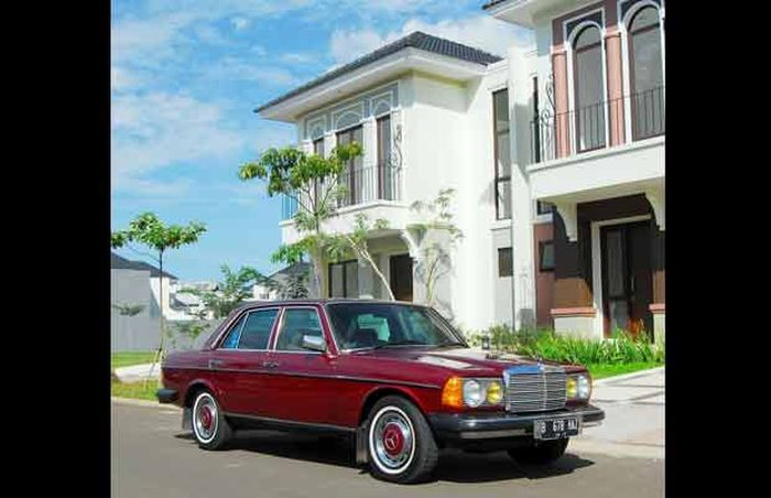 Mengenal Mercedes-Benz E280E A/T 1985