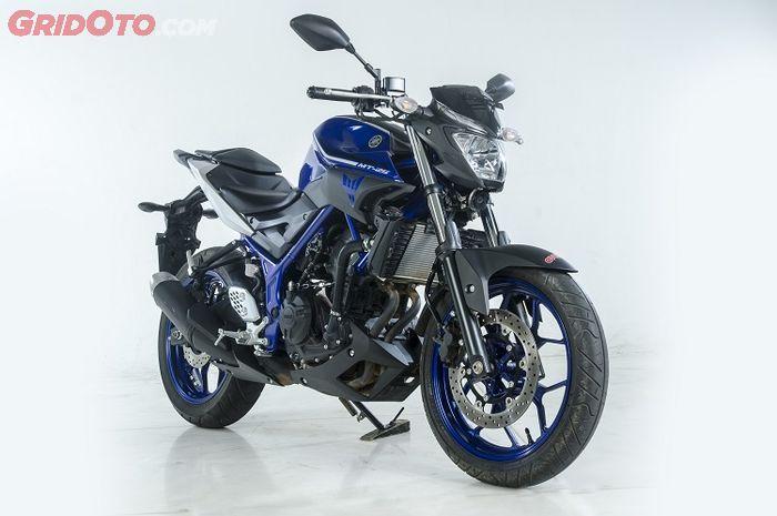 Yamaha MT-25 seken sudah mulai terjangkau