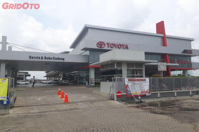 Ilustrasi. Dealer Auto2000 Pasar kemis, Tangerang.
