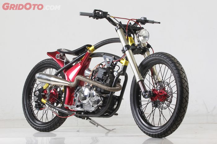 Yamaha Scorpio Konsep Sepeda Low Rider Protechnic