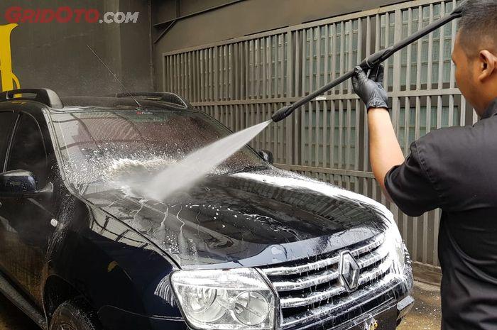 Mau Cuci Steam Mobil Waspada Dengan Bagian Eksterior Satu Ini Gridoto Com
