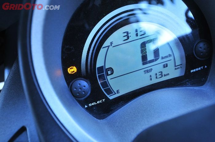 Lampu indikator ABS di Yamaha NMAX